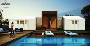 une maison écologique et évolutive