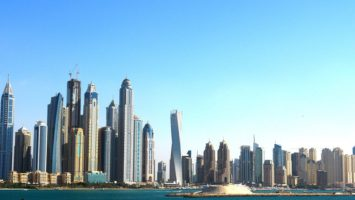 Skyline, Dubaï, Gratte-Ciel, Ville, Architecture, Tour