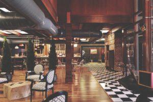 L'Architecture, Bar, Bâtiment, Chaises, Commerce